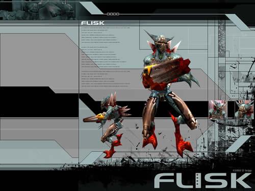 Quake 3 Arena Flisk Wallpaper
