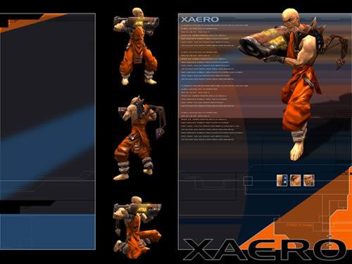 Quake 3 Arena Xaero Wallpaper
